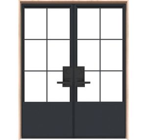 French Quarter Interior Double Door
