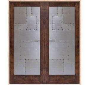 Steampunk Interior Double Door