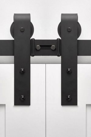 Stag For Double Doors - Same Day Ship Barn Door Hardware