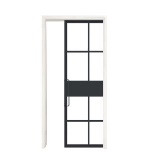 Terrace Single Pocket Door