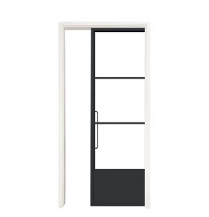Traditional Single Pocket Door