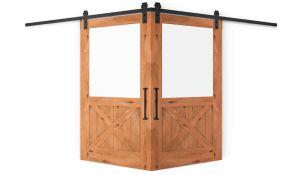Backwoods Corner Barn Door