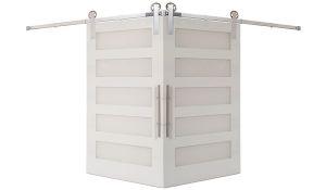 5 Panel Corner Barn Door
