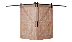 Dutch Z Corner Barn Door