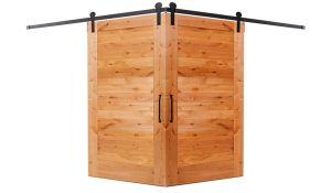 Summerhouse Corner Barn Door