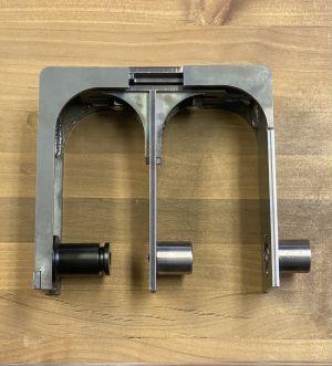 Adjustable Triple Bypass Barn Door System
