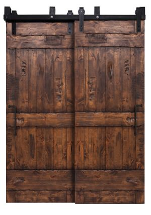 Adjustable Light Duty Bypass Barn Door System