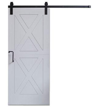 DIY Panel Door Gray - Same Day Ship - 3ft x 7ft