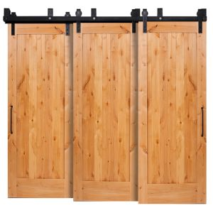 Lewiston Triple Bypass Barn Doors