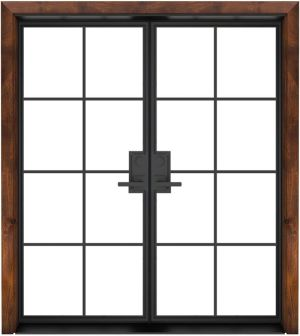 Provence Exterior Double Door