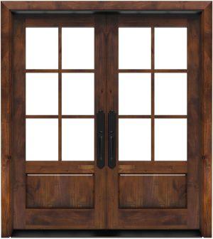 Boat House Double Front Door