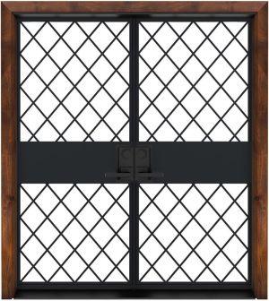 Cobbler Exterior Double Door