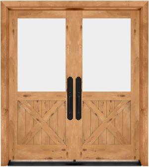 Open Road Exterior Double Door