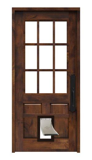 Lake House Pet Door