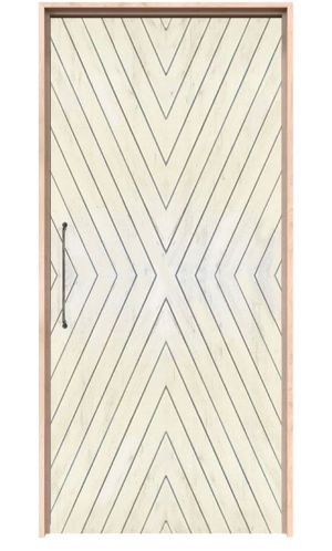 Fraction Interior Door