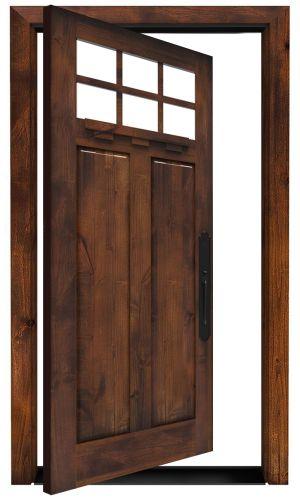 Apprentice Exterior Pivot Door