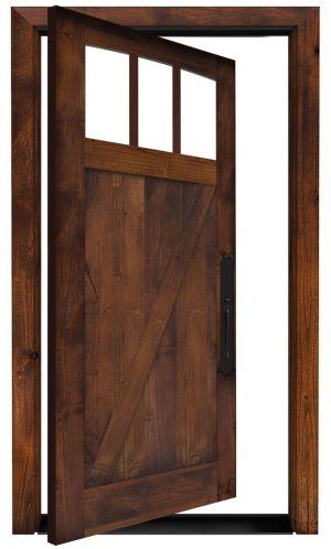 Rendezvous Exterior Pivot Door