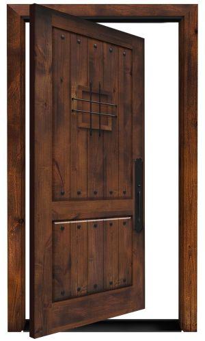 Stronghold Exterior Pivot Door