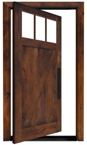 Clover Pass Exterior Pivot Door
