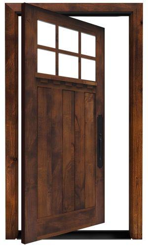 Rocky Point Exterior Pivot Door