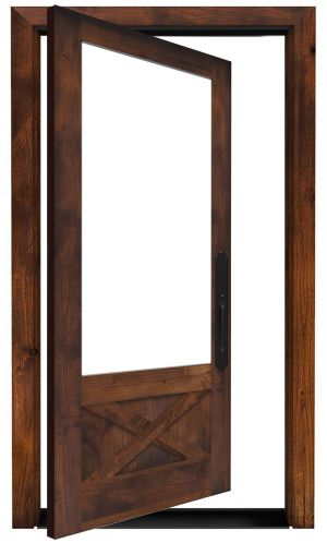 Hudson Exterior Pivot Door