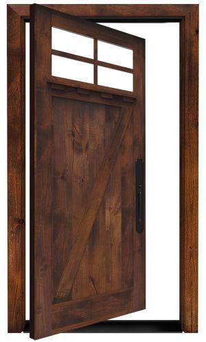 Skyline Exterior Pivot Door