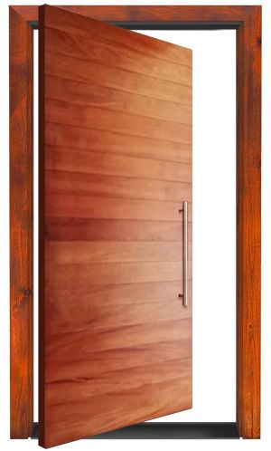 Modernistic Exterior Pivot Door
