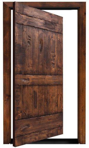 Ranch Exterior Pivot Door