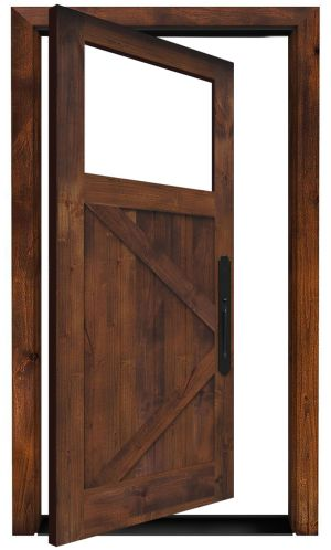 Shoemaker Exterior Pivot Door