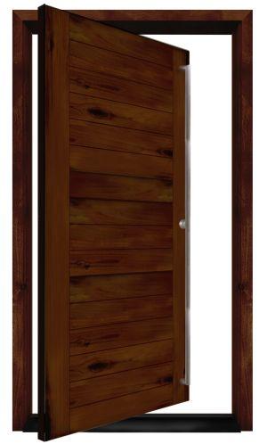 Benchmark Exterior Pivot Door