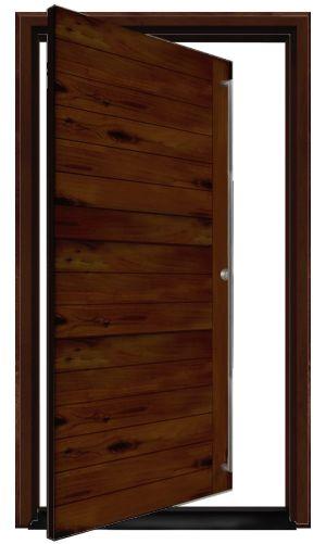 Groundwall Exterior Pivot Door