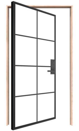 Provence Interior Pivot Door