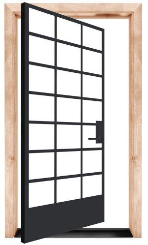 Cropland Exterior Pivot Door