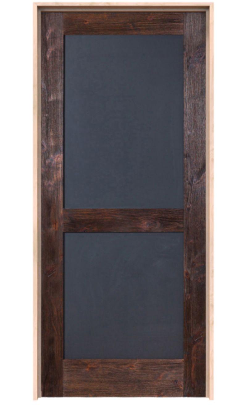 Chalkboard Exterior Door