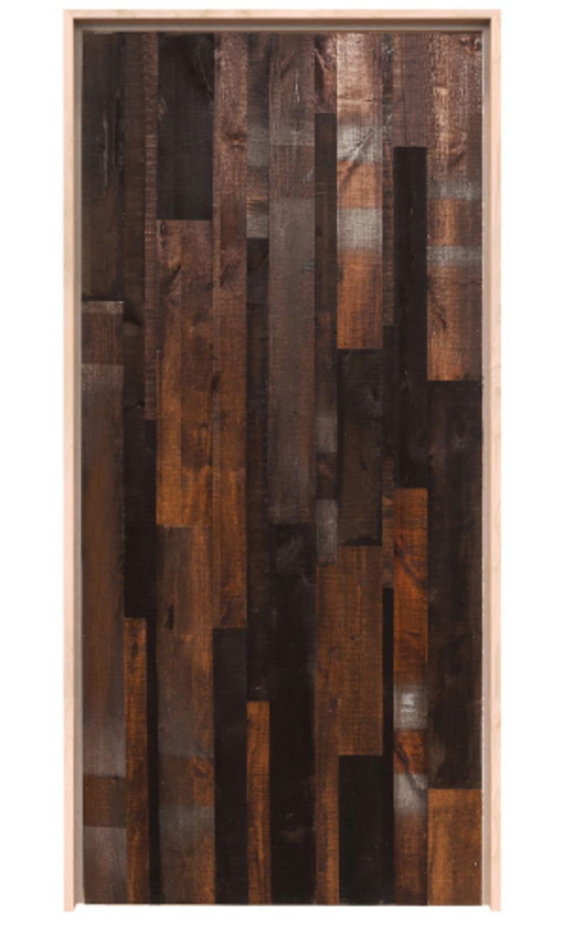 Vertical Rustica Reclaimed Exterior Door
