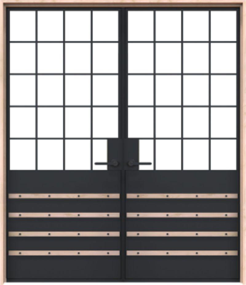 Lander Exterior Double Door