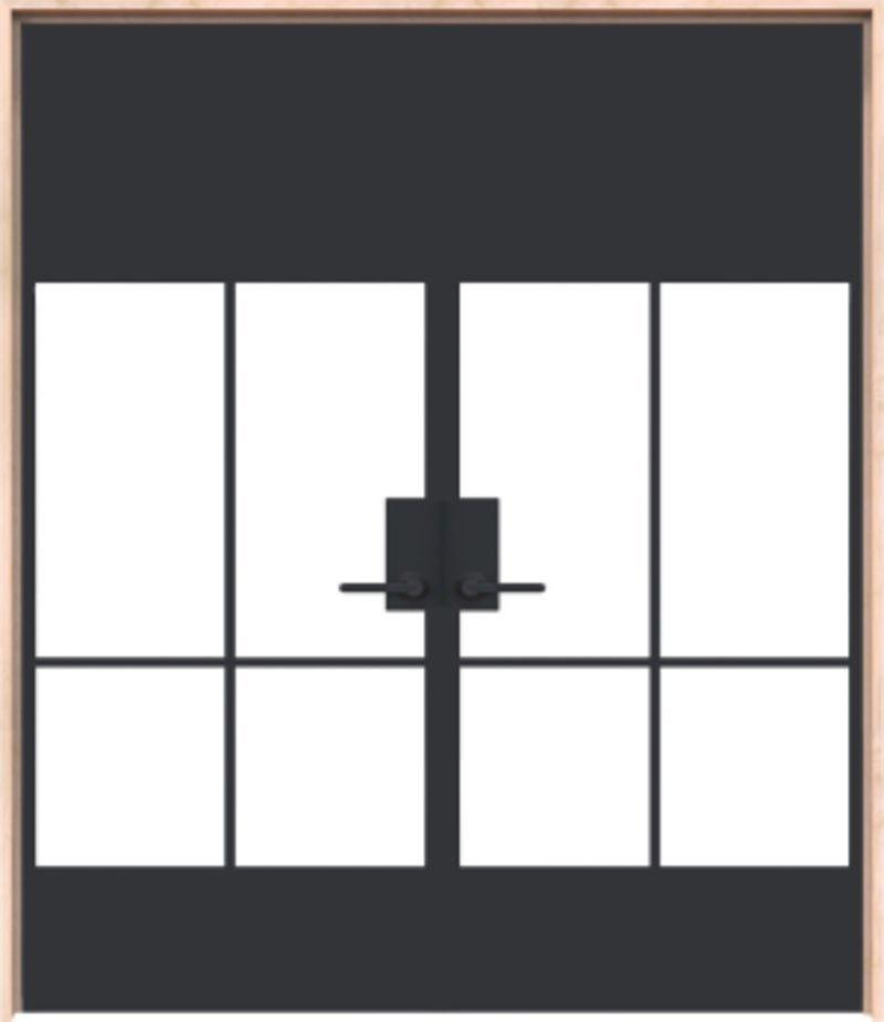 Crest Exterior Double Door