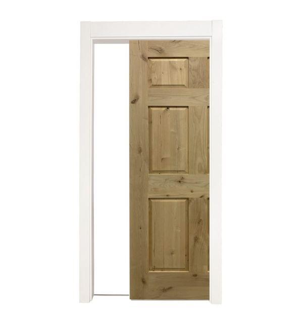 6 Panel Colonial Single Pocket Door