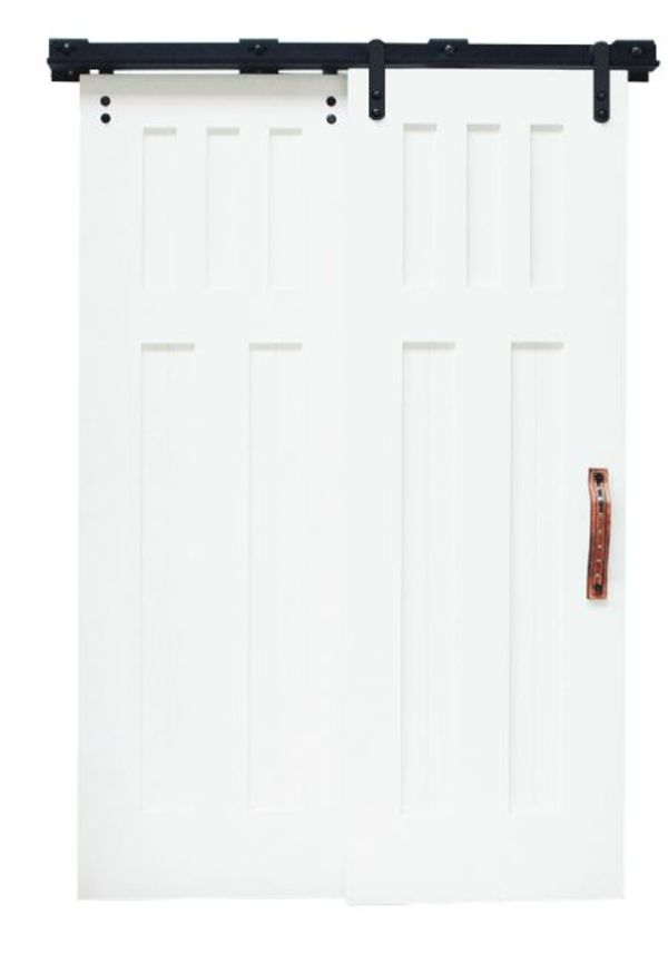 Low Clearance Bypass Barn Door Hardware