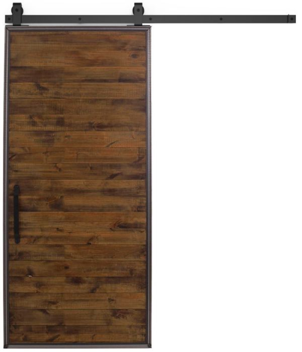 Mountain Modern Barn Door