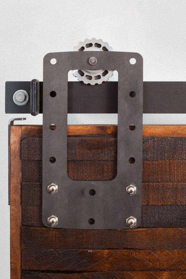 Bootstrap Barn Door Hardware