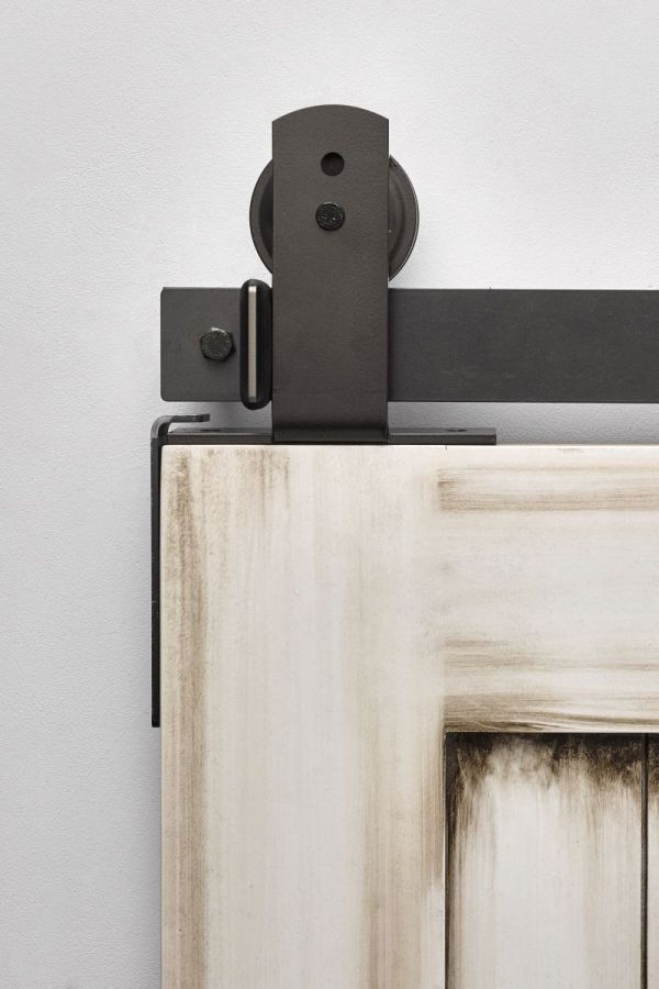 Top Mount Ultra Modern Barn Door Hardware