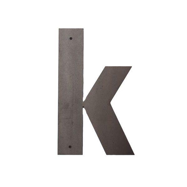 k Outdoor Letters