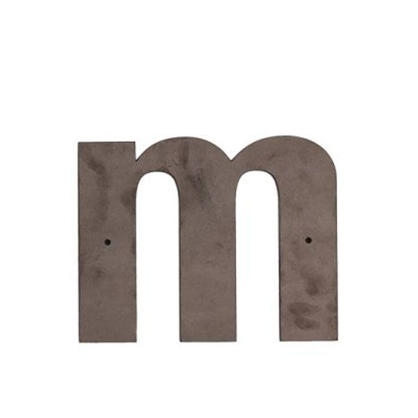 m Outdoor Letter