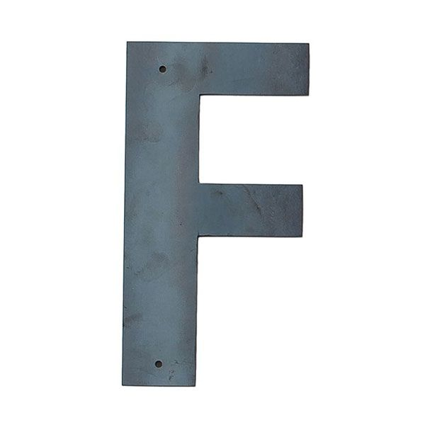 F Outdoor Letter