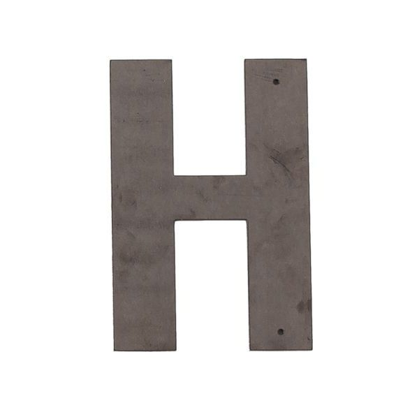 H Outdoor Letter