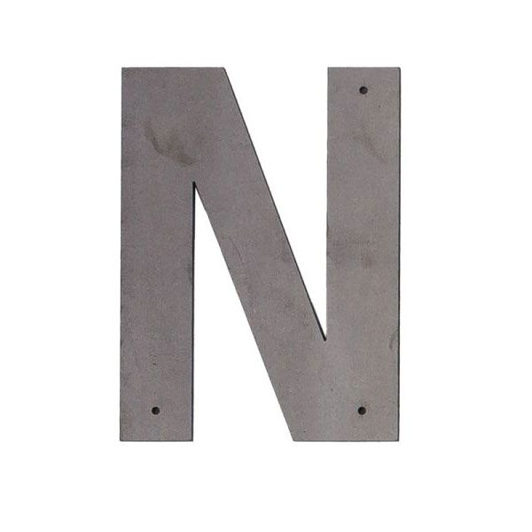 N Outdoor Letter