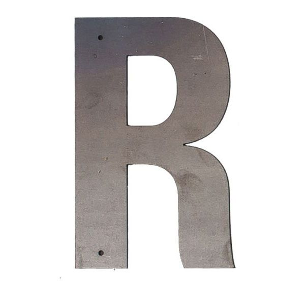 R Outdoor Letter