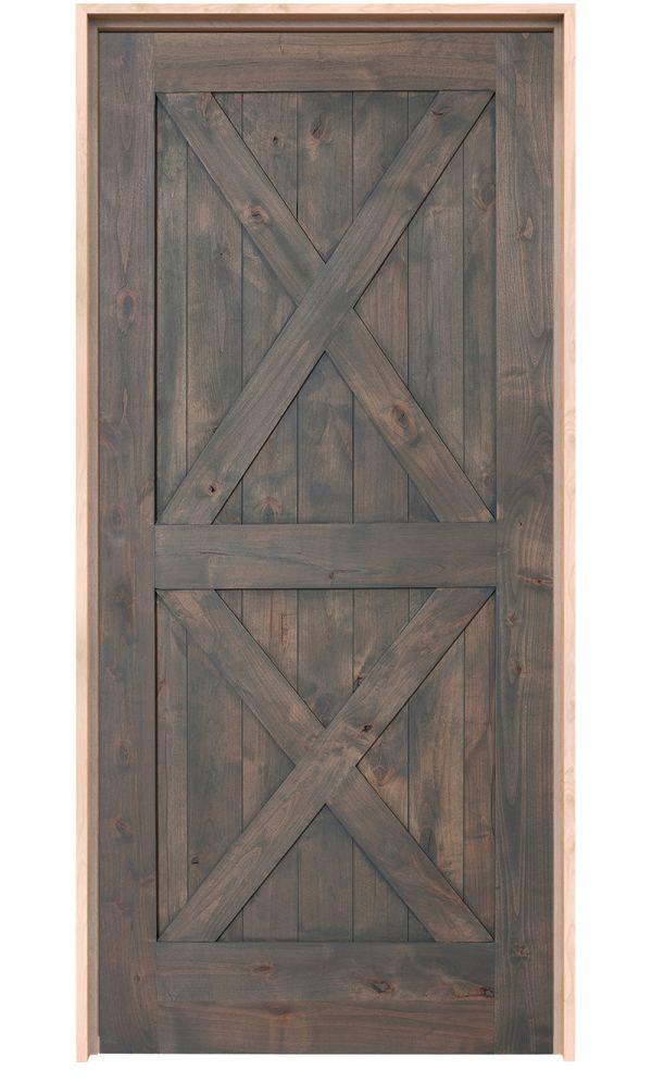 Double X Interior Door