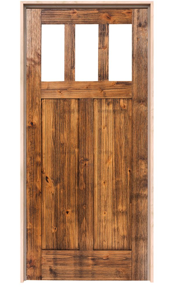 Craftsman Interior Door